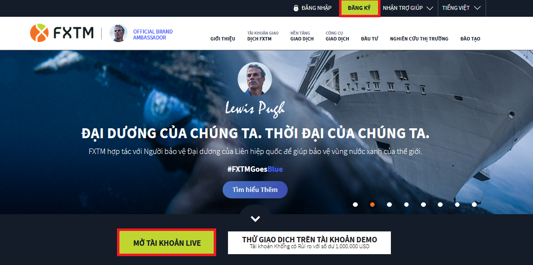 Hướng dẫn mở tài khoản sàn ForexTime (FXTM) - Kienthucforex com